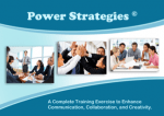 Power Strategies™ Team Program
